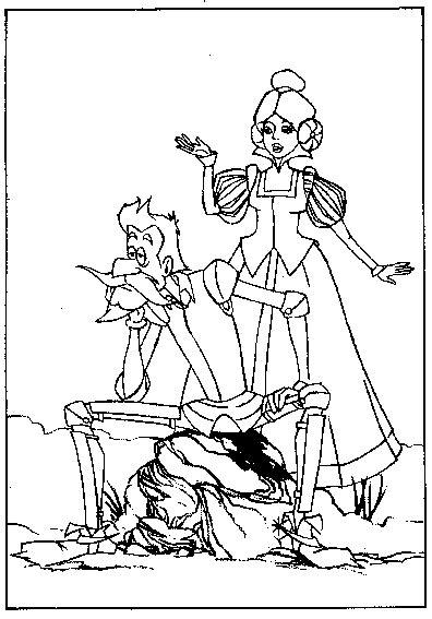 Dibujos para colorear de Don Quijote para niños | Quijote ...