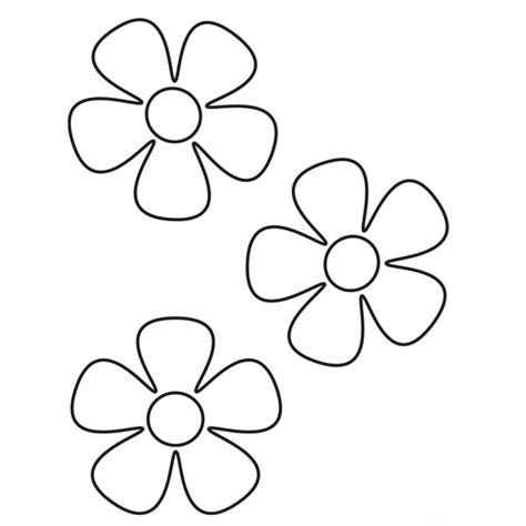 dibujos para colorear de flor de 5 petalos   Our Book of ...