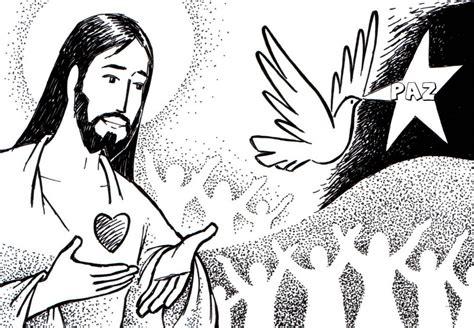 Dibujos para colorear de Jesus