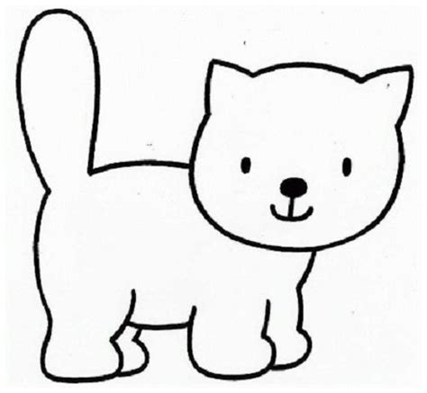 Dibujos Para Colorear De La Cara De Un Gato ~ Ideas ...