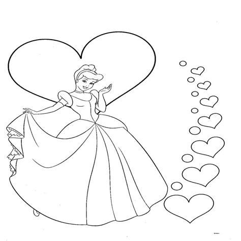 Dibujos Para Colorear De La Princesa Cenicienta