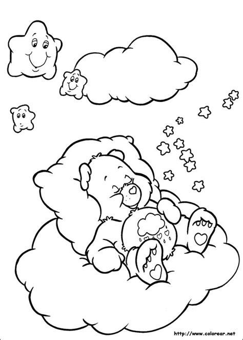 Dibujos para colorear de Los Osos Amorosos