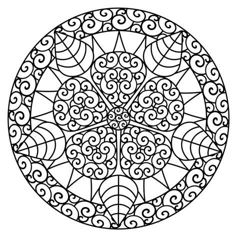 Dibujos para Colorear de Mandalas para imprimir y Colorear