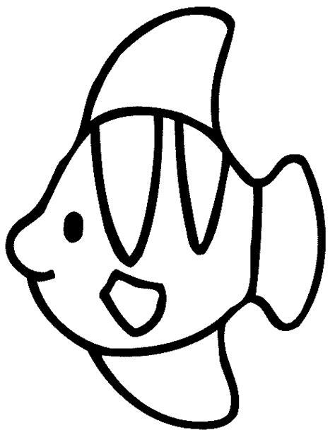 Dibujos para colorear de Peces, pez, Plantillas para ...