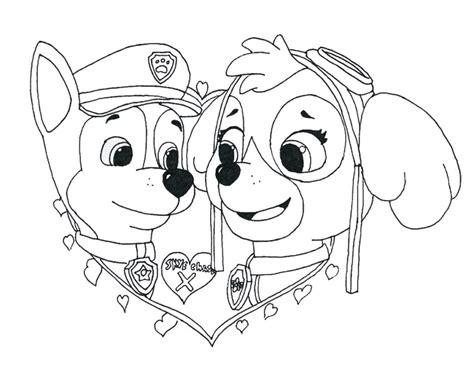 Dibujos para colorear e imprimir de paw patrol