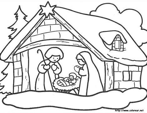 Dibujos para colorear en el ordenador de navidad gratis ...