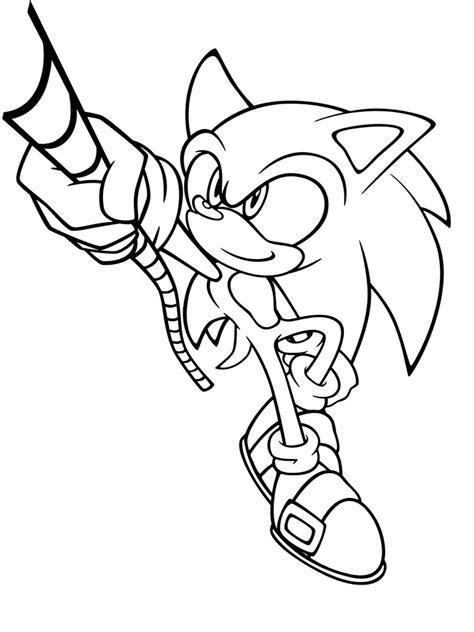 Dibujos Para Colorear En El Ordenador De Sonic ~ Ideas ...