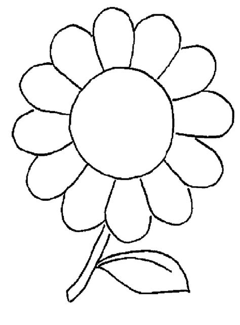 Dibujos para colorear flores 11 | Dibujos para colorear