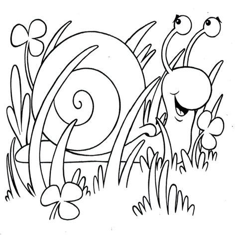 Dibujos Para Colorear Insectos En Primavera ...