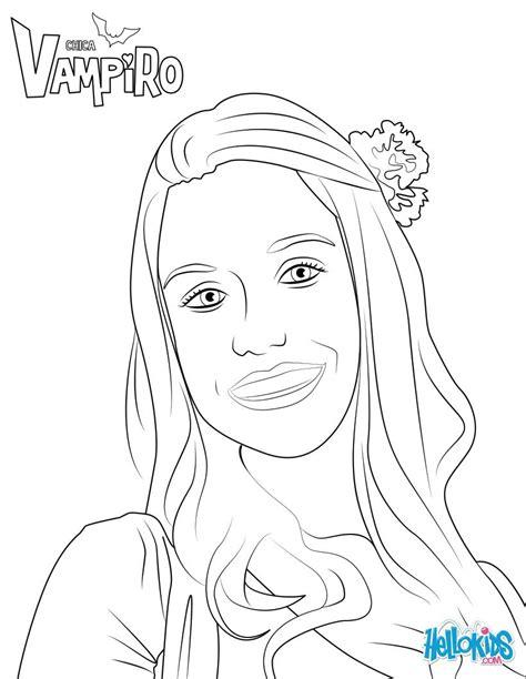Dibujos para colorear marylin de chica vampiro - es ...
