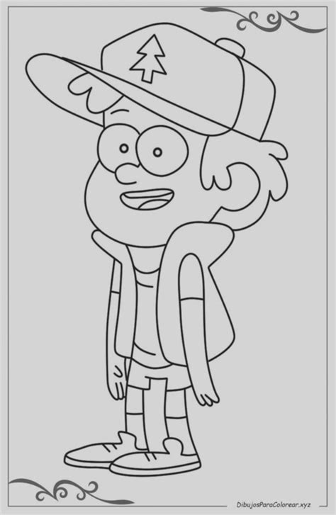 Juegos Para Colorear De Gravity Falls Dibujos Para Colorear Gravity