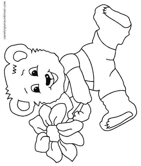 Dibujos para colorear osos