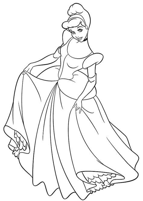 Dibujos para colorear Princesas - Dibujos para colorear