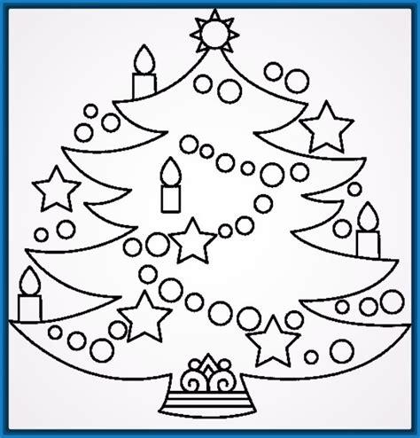 dibujos para imprimir arboles de navidad Archivos ...