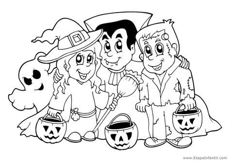 Dibujos para imprimir y colorear en Halloween - Etapa Infantil