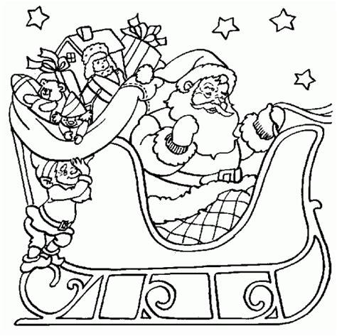 Dibujos para imprimir y colorear: Navidad para colorear