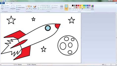 Dibujos para niños: Cómo aprender a dibujar un cohete ...