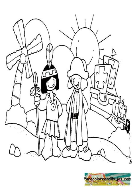 dibujos-para-ninos-del-descubrimiento-de-america ...