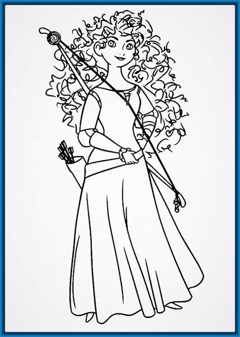 dibujos para pintar e imprimir de princesas Archivos ...