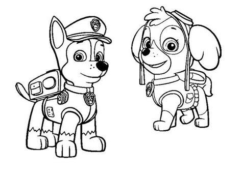 Dibujos Para Pintar La Patrulla Canina   Dibujos Para Pintar