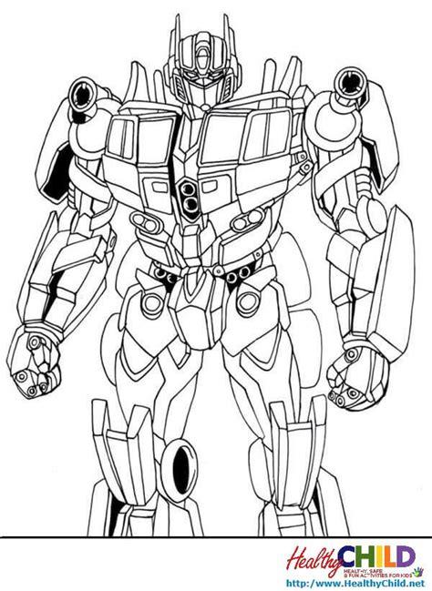 Dibujos Para Pintar Transformers - Dibujos Para Pintar