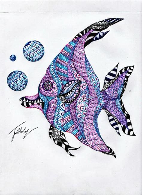 dibujos peces | Tumblr