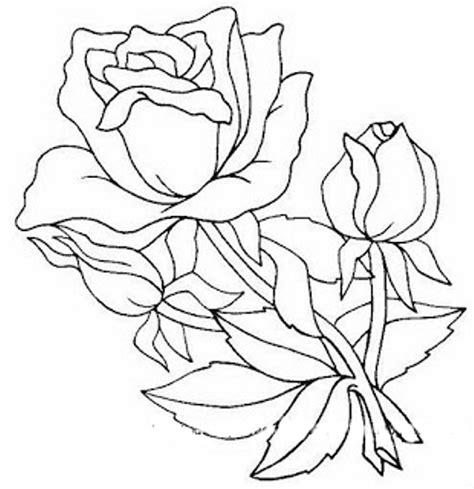 Dibujos y Plantillas para imprimir: dibujos de flores para ...