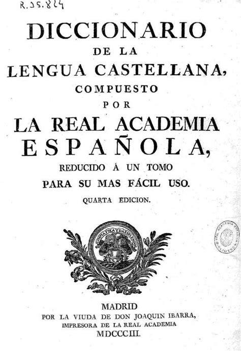 Diccionario de la lengua castellana / compuesto por la ...