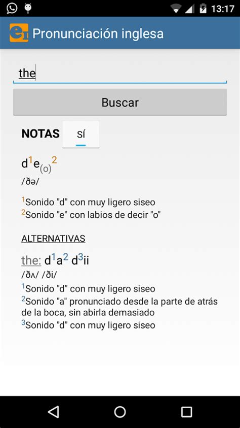 Diccionario de pronunciación - Android Apps on Google Play