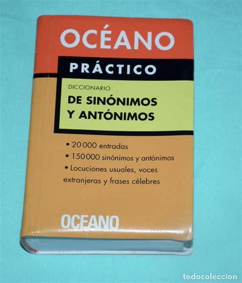 diccionario de sinónimos y antónimos   océano p   Comprar ...