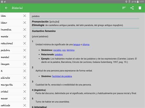 Diccionario español - Aplicaciones de Android en Google Play
