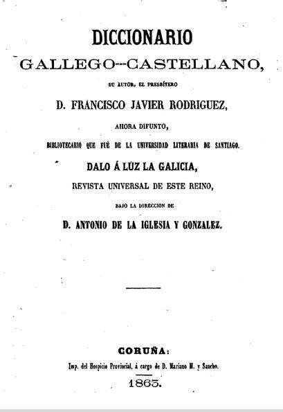 Diccionario Gallego-Castellano | galegobook