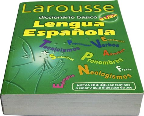 Diccionario Larousse Basico 970-22-1419-x Pasta Verde ...