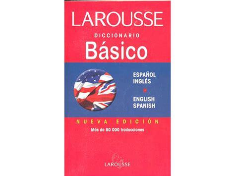 DICCIONARIO LAROUSSE Ingles / Español - Atlas City S.A.