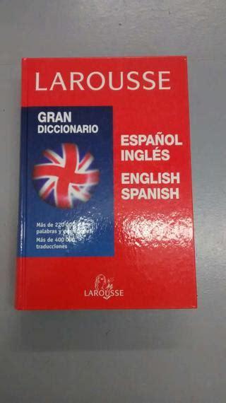 Diccionario Larousse ingles - español de segunda mano por ...