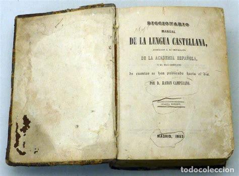 diccionario manual lengua castellana real acade - Comprar ...