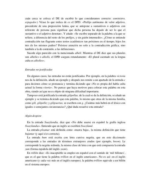 Diccionario panhispanico de dudas argumento  cumple con su ...