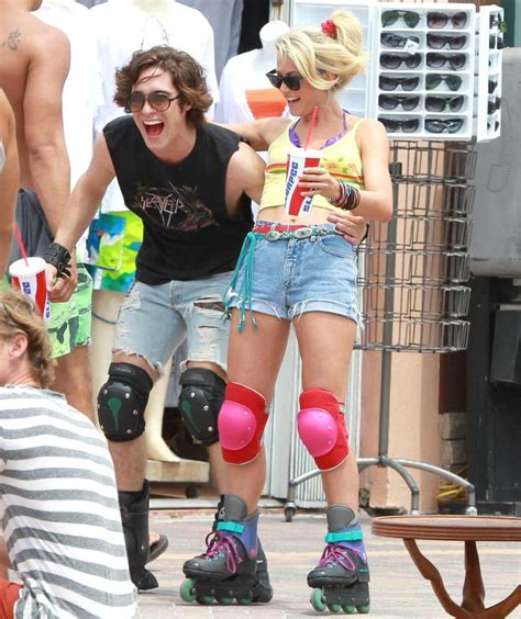 Diego Boneta Picture 8   On The Set of New Movie Rock of Ages