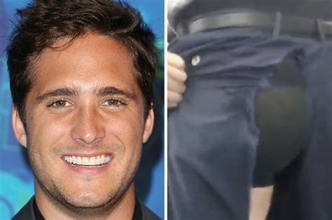 Diego Boneta Ripped His Pants From Droppin  It Low And ...