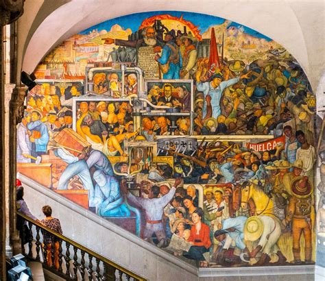 Diego Rivera, 1929 - 1935 El mundo de hoy y de mañana ...
