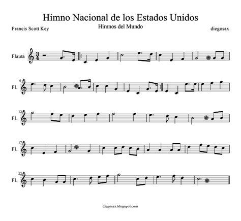 diegosax: Himno Nacional de los Estados Unidos de América ...