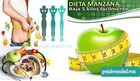 Dieta de la Manzana   Genial Con salud