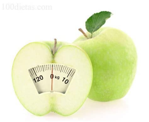 Dieta de la manzana, para perder peso rápidamente | 100 Dietas