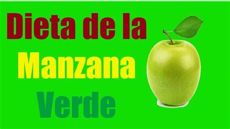 Dieta de la manzana verde por 3 dias  Para Bajar hasta 7 ...