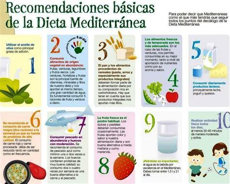 Dieta Mediterranea: Que es, Menú, Beneficios, Paso a Paso ...