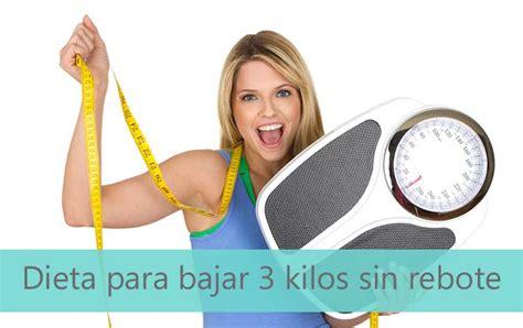 Dieta para PERDER ¡3 KILOS en una SEMANA!
