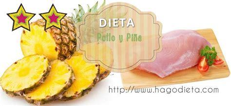 Dieta Pollo y Piña
