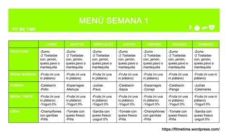 Dieta Saludable Lista