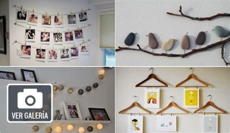 Diez ideas originales y creativas para decorar paredes ...