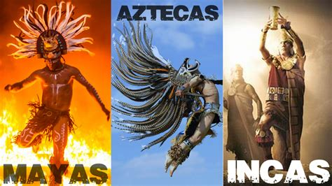 Diferencias entre Mayas, Aztecas e Incas - Riviera Maya